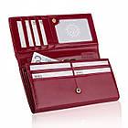 Жіночий шкіряний гаманець Betlewski з RFID 18,5 х 10 х 3,5 (BPD-OL-100) - бордовий, фото 3