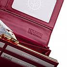 Жіночий шкіряний гаманець Betlewski з RFID 18,5 х 10 х 3,5 (BPD-OL-100) - бордовий, фото 5