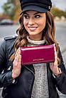 Жіночий шкіряний гаманець Betlewski з RFID 18,5 х 10 х 3,5 (BPD-OL-100) - бордовий, фото 8