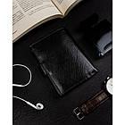 Чоловічий шкіряний гаманець Badura  з RFID 13 х 9,5 х 2,5 (PO_M054CZ_CE) - чорний, фото 2