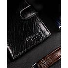Чоловічий шкіряний гаманець Badura  з RFID 13 х 9,5 х 2,5 (PO_M054CZ_CE) - чорний, фото 9