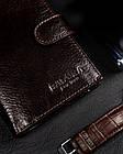 Чоловічий шкіряний гаманець Badura з RFID 13 х 10 х 2,5 (PO_M044BR_CE) - коричневий, фото 3