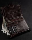 Чоловічий шкіряний гаманець Badura з RFID 13 х 10 х 2,5 (PO_M044BR_CE) - коричневий, фото 4