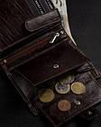 Чоловічий шкіряний гаманець Badura з RFID 13 х 10 х 2,5 (PO_M044BR_CE) - коричневий, фото 7