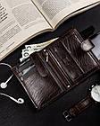 Чоловічий шкіряний гаманець Badura з RFID 13 х 10 х 2,5 (PO_M044BR_CE) - коричневий, фото 8