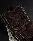 Чоловічий шкіряний гаманець Badura з RFID 13 х 10 х 2,5 (PO_M044BR_CE) - коричневий, фото 9