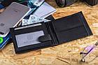 Чоловічий шкіряний гаманець Betlewski з RFID 12,5 х 9,5 х 2 (ETPM-KZ-61) - чорний, фото 4