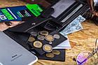 Чоловічий шкіряний гаманець Betlewski з RFID 12,5 х 9,5 х 2 (ETPM-KZ-61) - чорний, фото 5