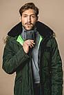 Чоловічий шкіряний гаманець Betlewski з RFID 12,5 х 9,5 х 2 (ETPM-KZ-61) - чорний, фото 9
