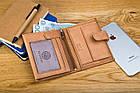 Чоловічий шкіряний гаманець Betlewski з RFID 12,9 х 10 х 2,5 (BPM-GTAN-993) - пісочний, фото 5
