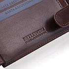 Чоловічий шкіряний гаманець Betlewski з RFID 12 х 9 х 2,5 (BPM-VTC-61) - коричневий, фото 10