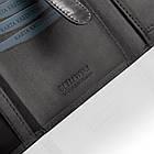 Чоловічий шкіряний гаманець Betlewski з RFID 12,5 х 10,5 х 2,5 (BPM-VTC-307) - чорний, фото 2