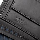 Чоловічий шкіряний гаманець Betlewski з RFID 12,5 х 10,5 х 2,5 (BPM-VTC-307) - чорний, фото 8