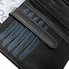 Чоловічий шкіряний гаманець Betlewski з RFID 12,5 х 10,5 х 2,5 (BPM-VTC-307) - чорний, фото 10