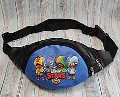 Stars детская сумка бананка на пояс старс 4 героя