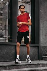 Літній чоловічий спортивний костюм шорти + футболка