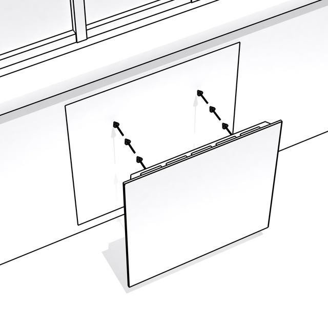 установка керамических панелей Opal 375