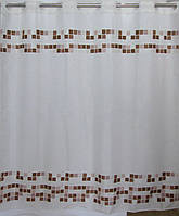 Шторка для ванної квадрати AWD Interior 02100851