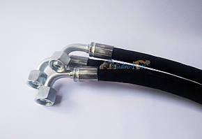 РВД (рукав високого тиску) гідравлічний шланг ключ S24 (M20x1.5) 0.6 метра