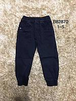 Котонові штани-джоггеры для хлопчиків Grace 1-5років