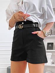 Женские джинсовые шорты багги