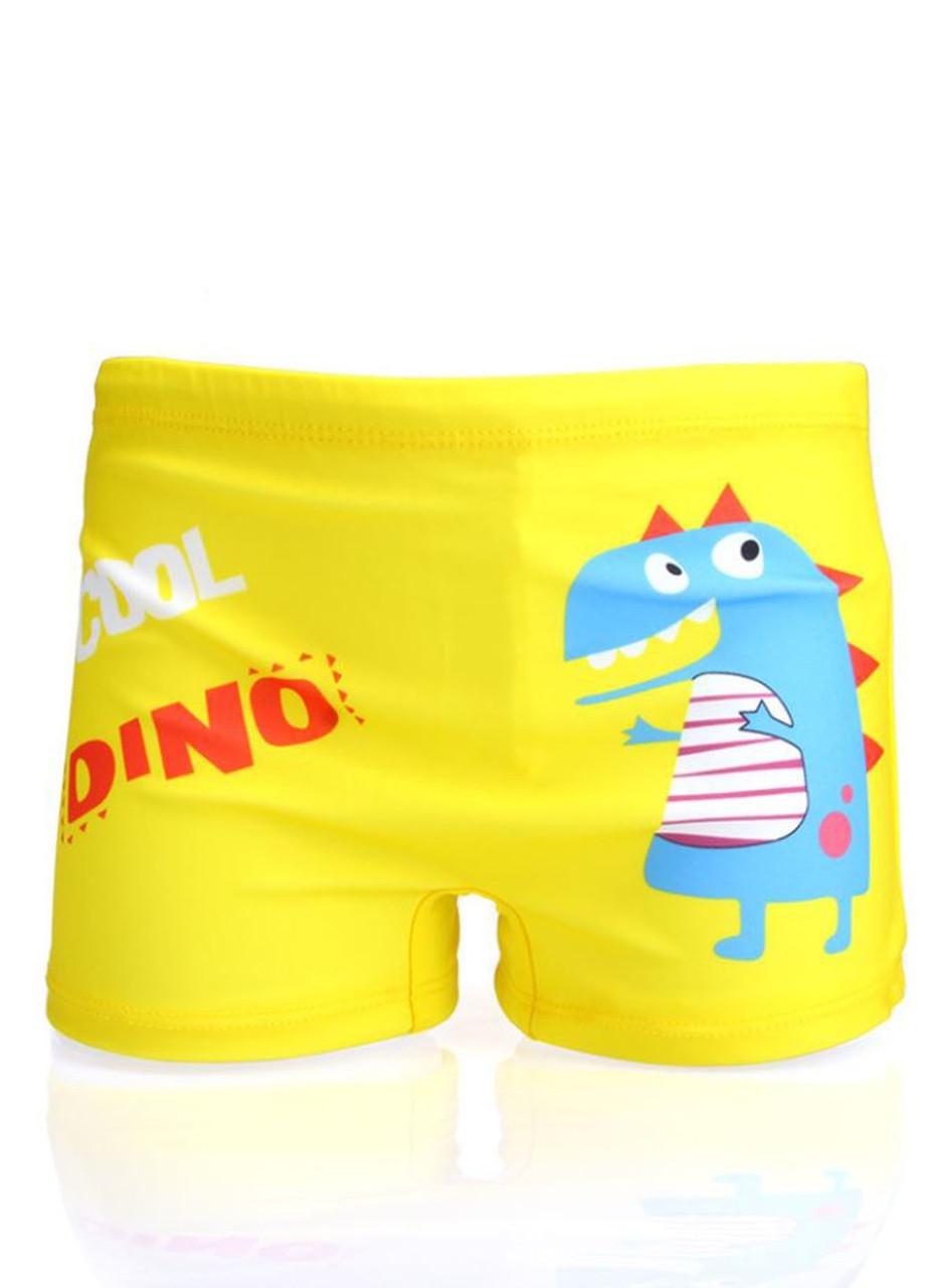 Плавки на мальчика шортами пляжные с Dino
