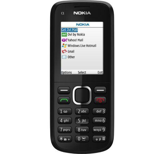 Мобільний телефон Nokia C1-02 Black 800 мАч Оригінал