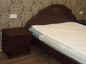 Кровать деревянная с тумбами 4