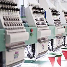 Широкоформатная автоматическая вышивка