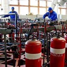 Услуги по заправке и ремонту газовых баллонов