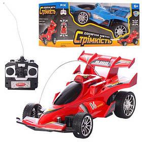 Машина 0909S-4F р/у,гоночна,19-8,5-10см,рез.колеса,2цвет,на бат-ке,в кор-ке,22,5-10,5-11,5 см