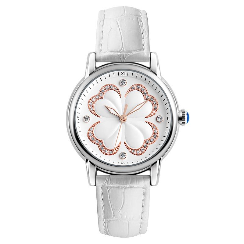 Skmei 9159 elegant белые женские классические часы