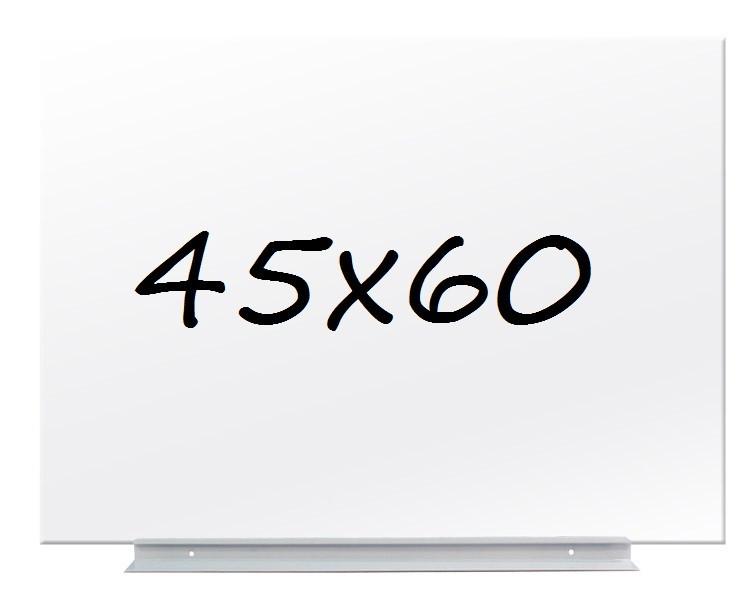 Доска магнитно-маркерная стекляная GL4560WT, 45x60