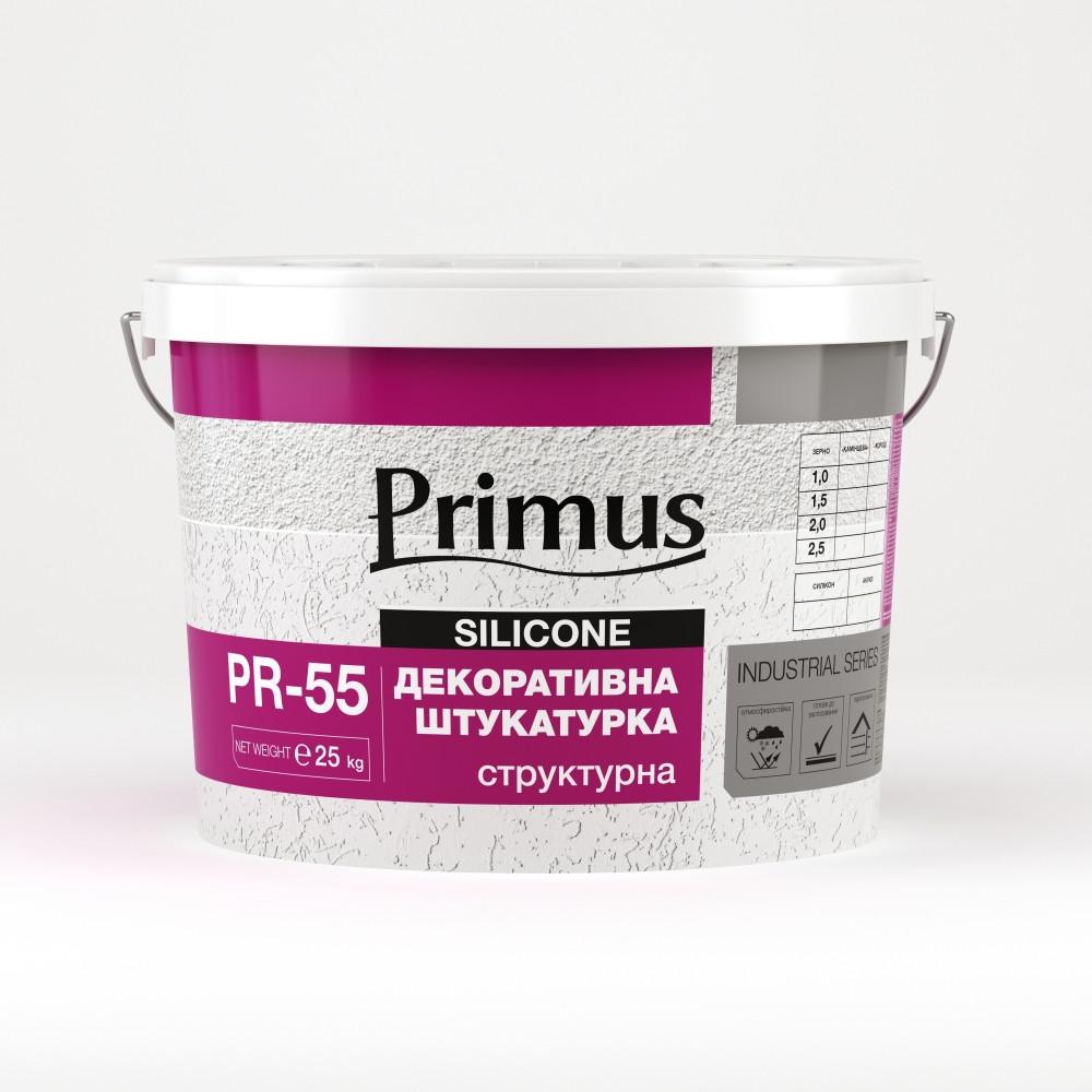 """Акрилова декоративна штукатурка PRIMUS PR-55 (Примус) """"Шуба"""" (25 кг)"""