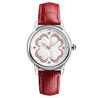 Skmei 9159 elegant красные женские классические часы, фото 1