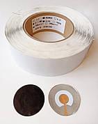 Протикрадіжна етикетка кругла. Протикражні радіочастотні мітки. Протикрадіжна наклейка 1000 шт/рулон