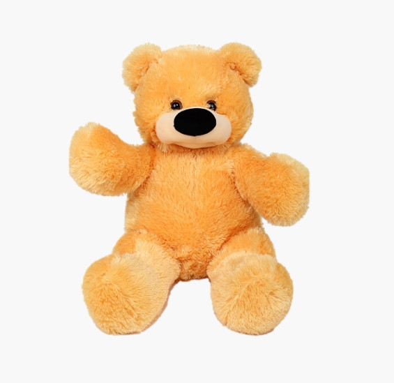 Мягкая игрушка медведь Бублик 77 см медовый Б№2-мед