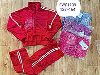 Спортивний костюм для дівчаток FIHU, 128-164 pp. Артикул: FWS1109