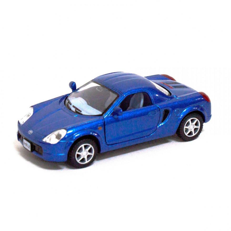 Машинка Toyota MR2 Kinsmart KT5026W инерционная, 1:32 (Синий)