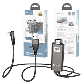 Кабель Lightning to HDMI адаптер hoco. UA14