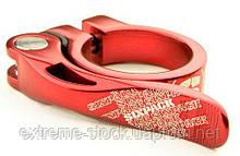 Підсідельний затискач Sixpack Menace, червоний, 34.9 мм