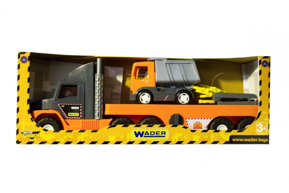 """Super Tech Truck"" з вантажівкою 36710"
