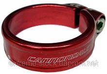 Підсідельний хомут Cannondale (35.0 мм) під трубу 31.6, червоний KP164/RED