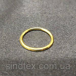 SALE 100 шт. - 1,2 см кольцо бюстгальтера золото (SALE-БФ03)