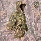 Куртка SoftShell камуфляжна ММ-14 (піксель ЗСУ), фото 4