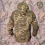 Куртка SoftShell камуфляжна ММ-14 (піксель ЗСУ), фото 2