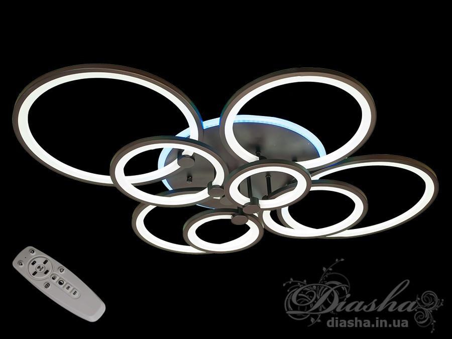 LED люстра Diasha 8022/8BK LED dimmer-2.4 G