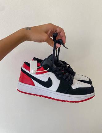 Женские кроссовки Nike Retro 1 Low Black/Red, фото 2