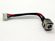 Разъем питания + кабель ASUS K40, K50, K60, K70, P50  бу
