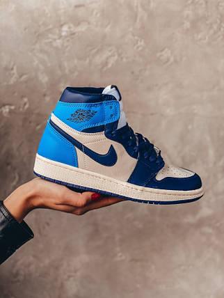 Женские кроссовки Nike Air Jordan 1 Jordan Retro, фото 2